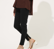 WIDE RIB LEGGINGS