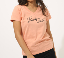 beverly barbie Vneck TEE