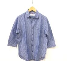 ATU七分袖リネンシャツ