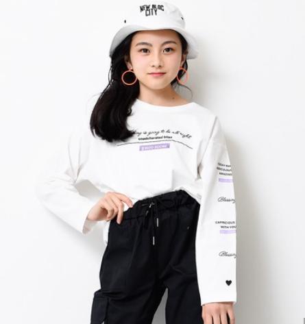 筆記体ロゴロングTシャツ