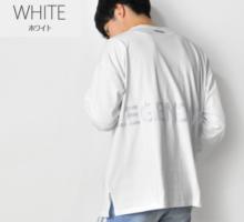 リフレクターロゴ ビッグシルエット 長袖Tシャツ