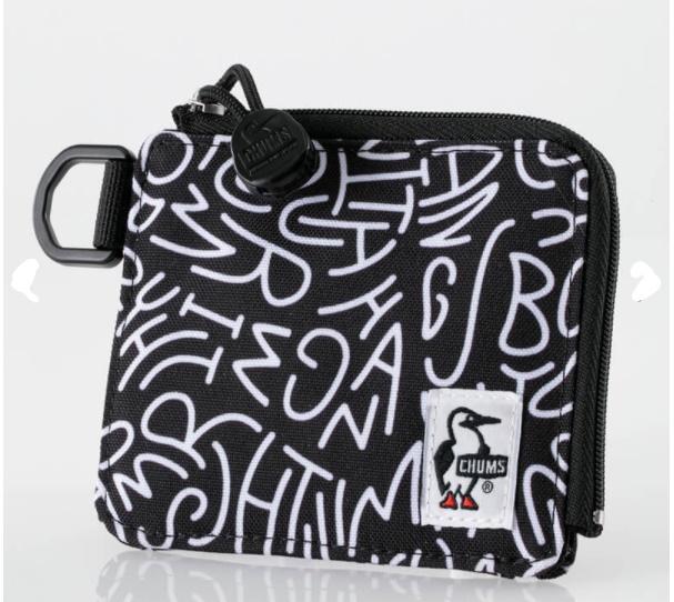InkedRecycle L-Shaped Zip Wallet_LI