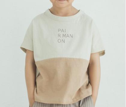 バイカラー 半袖 Tシャツ