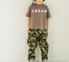 シンプル ロゴ イラスト プリント 半袖 Tシャツ